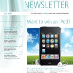 July 2011 newsletter cover