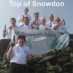 Speedboard Staff at Top of Snowden