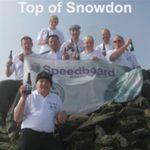 Speedboard Staff at Top of Snowden