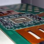 Typical complex PCB being assembled by Speedboard