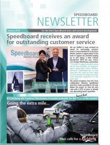 Speedboard January 2016 Newsletter