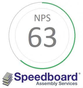speedboard post net promoter score of 63 speedboard assembly services